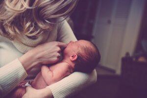 Ulewanie niemowlaka